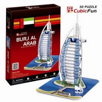 3D Пазл Отель Бурж эль Араб (ОАЭ)