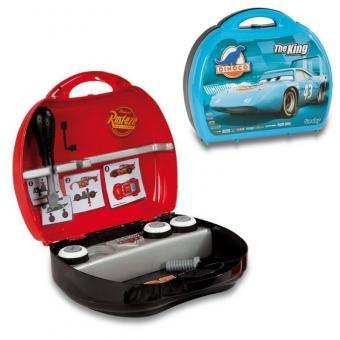 Коструктор в чемоданчике из серии Тачки Мак и Молния Маккуин 2 вида