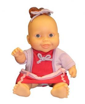 Кукла-пупс, девочка в зимней одежде, в инд. коробке, 22 см