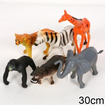 Набор из 6-и диких животных10-13см