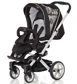 HARTAN Детская комбинированная коляска 2 в 1 VIP XL