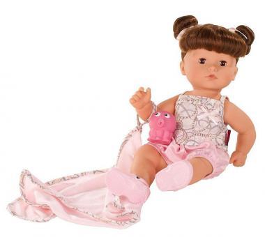 Кукла Макси-аквини, шатенка, карие глаза