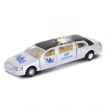 машина  металл. инерц. лимузин vip автопарк, со светом и звуком2*