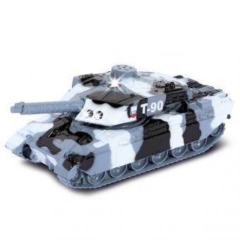 Танк Т-90 металлический инерционный