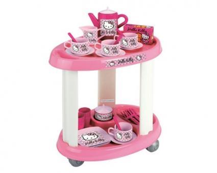 Сервировочный столик с посудой Hello Kitty