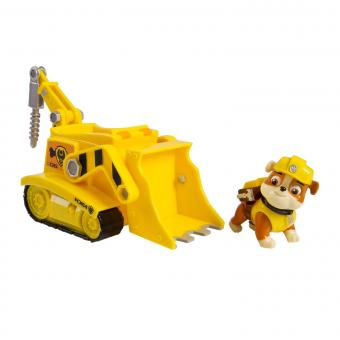 Paw Patrol Машинка спасателя и щенок, Рокки (Rubble)