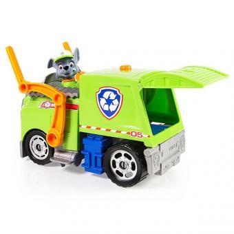 Paw Patrol машина спасателей со звуком и светом, Рокки