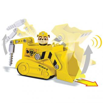 Paw Patrol машина спасателей со звуком и светом, Крепыш