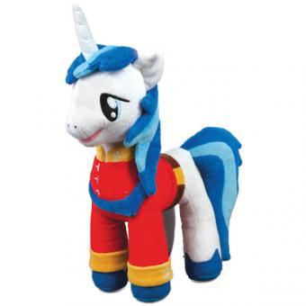 """Мягкая игрушка пони принц армор (м/ф """"My little pony"""") со звуком чип 25 см"""