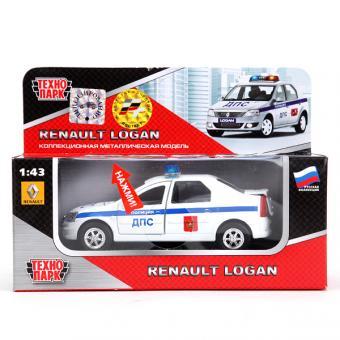 Модель Renault Logan ДПС 1:43