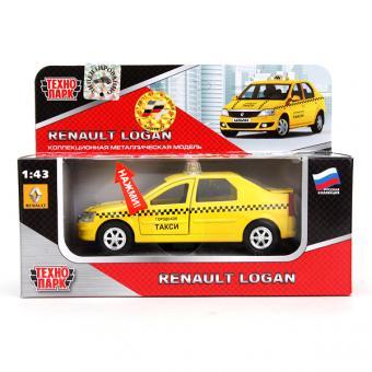 Модель Renault Logan Такси 1:43