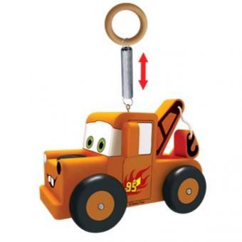 Деревянная игрушка  Disney Тачки попрыгунчик мэтр