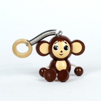 Деревянная игрушка  Чебурашка фигурка