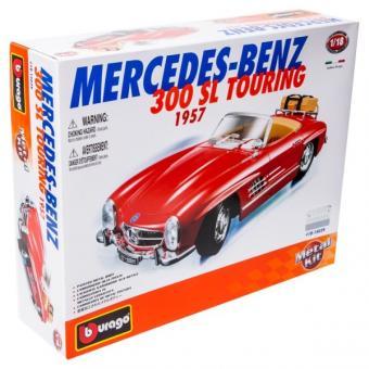 Машина СБОРКА MERCEDES-BENZ 300 SL TOURING (1957) металл. 1:18