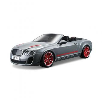Машина СБОРКА BENTLEY Continental Supersports Convrtible ISR металл. 1:18