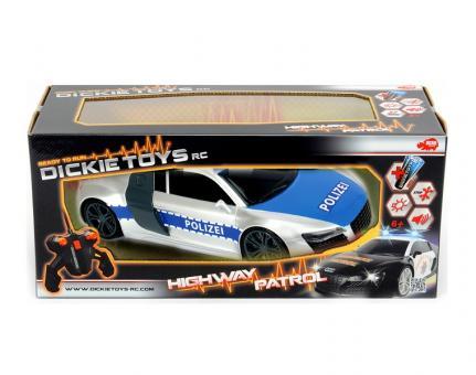 Полицейский патруль на р/у, 2-х канальный, 1:16, 28см, свет звук