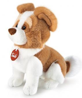Мягкая игрушка Собачка Бэн рыже-белая, 30см