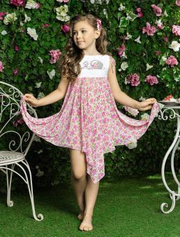 Пляжное платье для девочек 92-98
