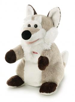 Мягкая игрушка на руку Волк,25см