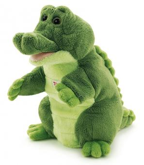 Мягкая игрушка на руку Крокодил, 25 см