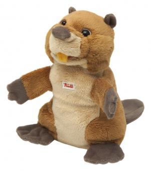 Мягкая игрушка на руку Бобер, 25 см