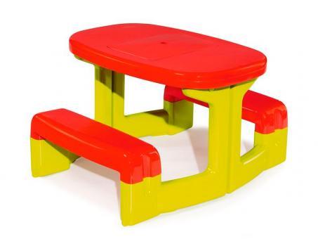 Детский столик для пикника, зеленый