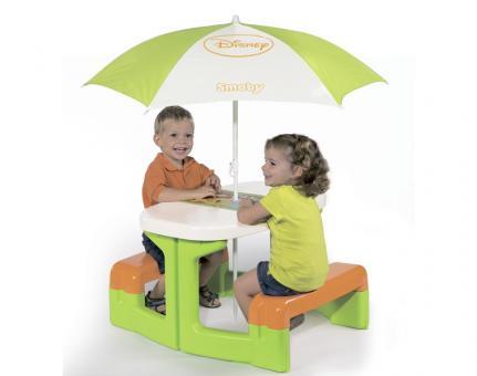 Столик для пикника Winnie с зонтиком