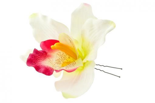 Шпилька для волос с цветком