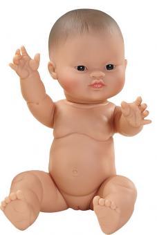 Кукла-пупс  Горди без одежды, девочка-азиат, 34 см