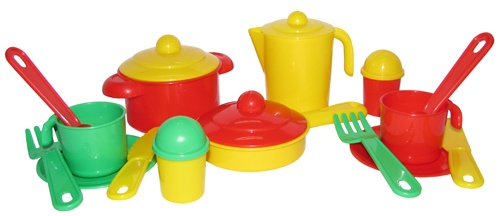 Набор посуды Настенька на 2 персоны