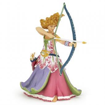 Фигурка Принцесса с луком и стрелами, 11 см