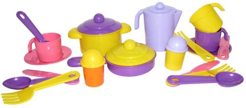 Набор посуды Настенька на 3 персоны