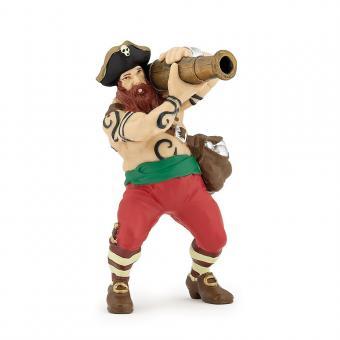 Фигурка Пират канонир, 9 см