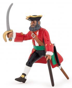 Фигурка Капитан Деревянная нога красный, 7 см