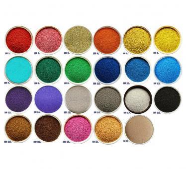 Цветной песок. Песок для творчества в пакете 1000г. , в ассортименте Бирюзовый №7