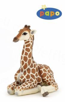 Фигурка Лежащий детеныш жирафа
