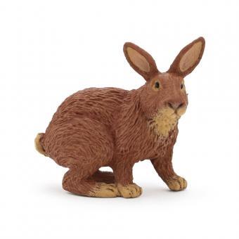 Фигурка Коричневый кролик, 5 см