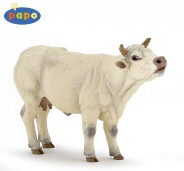 Фигурка Шаролезская корова, 14 см