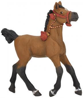 Фигурка Жеребенок арабской лошади в парадной упряжи, 9,5 см