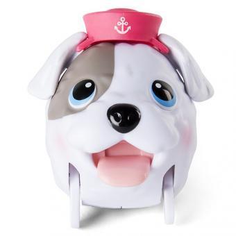 Chubby Puppies коллекционная фигурка, в красной шапке