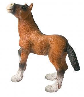 Фигурка Жеребенок шайрской породы, 8 см