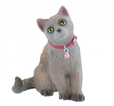 Фигурка Кошка русская голубая, 7 см