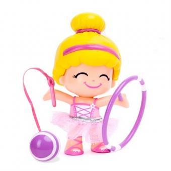 Кукла Пинипон-спортсменка 4 в ассортименте гимнастка