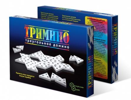 Логическая игра Тримино (треугольное домино)