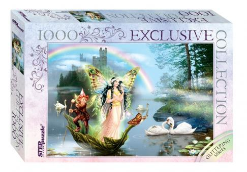 Пазл 1000 Glitter Волшебное озеро