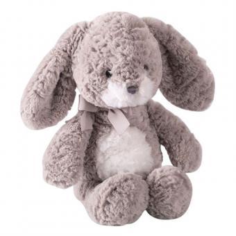 Мягкая игрушка Заяц Мил серый, 23 см