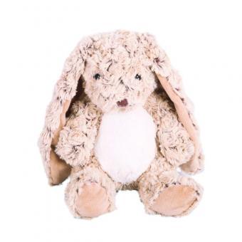 Мягкая игрушка Кролик сидячий шоколадный, 21 см