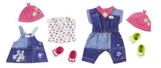 Baby born Одежда Джинсовая коллекция, 2 вида