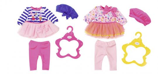 Baby born Одежда В погоне за модой, 2 вида
