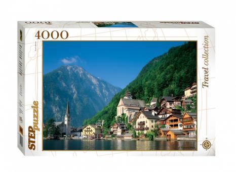 Пазл 4000 Австрия. Хальсштадт
